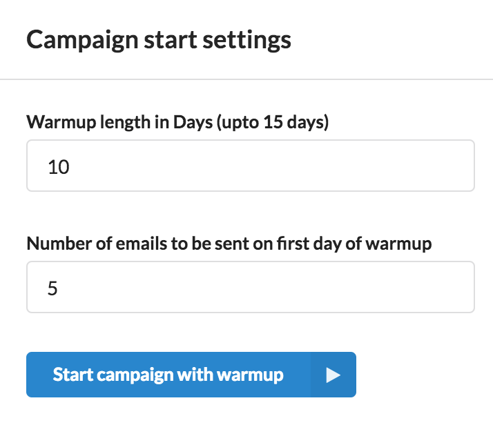 Email Automation smartreach.io Maintain a high domain reputation by warming up your campaigns